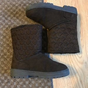 Sonoma Girls boots size 1 w faux fur lining